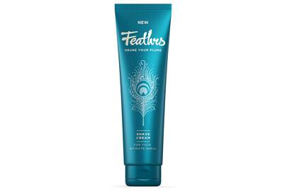 Shaving cream for pubic hair removal