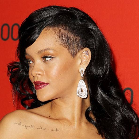 Celebrity Undercut Hairstyles