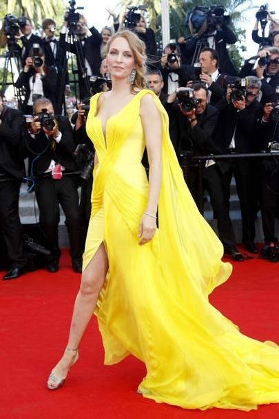 Uma Thurman - Cannes 2014
