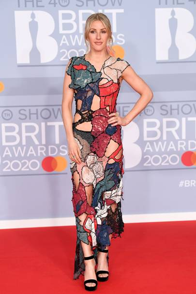 Ellie Goulding in a Koche dress