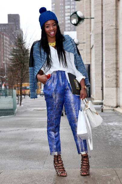 Kia Denise, Blogger, New York