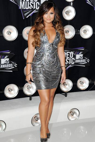 Demi Lovato at the MTV VMAs 2011