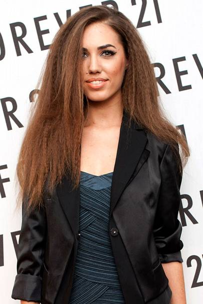 Brunette hair celebrity brunettes hairstyle colour ideas 2016 this mega crimped look might not be for everyone but the rich autumn brown hair hue is perfect for all brunette beauties full marks to amber le bon pmusecretfo Gallery