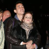 Emma Watson and her boyfriend at Coachella 2012