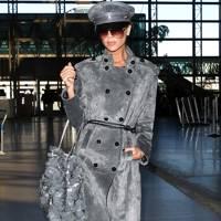 Loewe suede trench coat