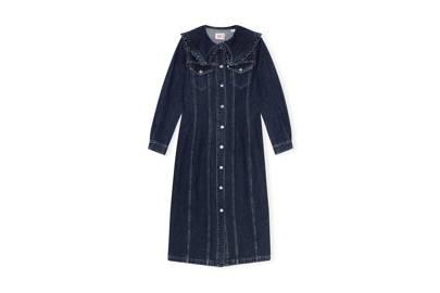 Ganni X Levi's Denim Collaboration: the shirt dress