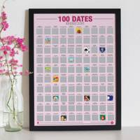Anniversary Gift Ideas: the date night poster