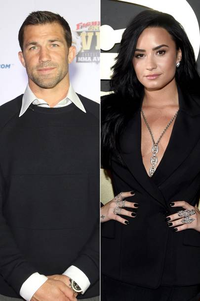 Demi Lovato and Luke Rockhold