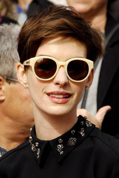 af0bda2f54c At the premiere of Rio 2 in Miami Which Sunglasses  Karen Walker Eyewear