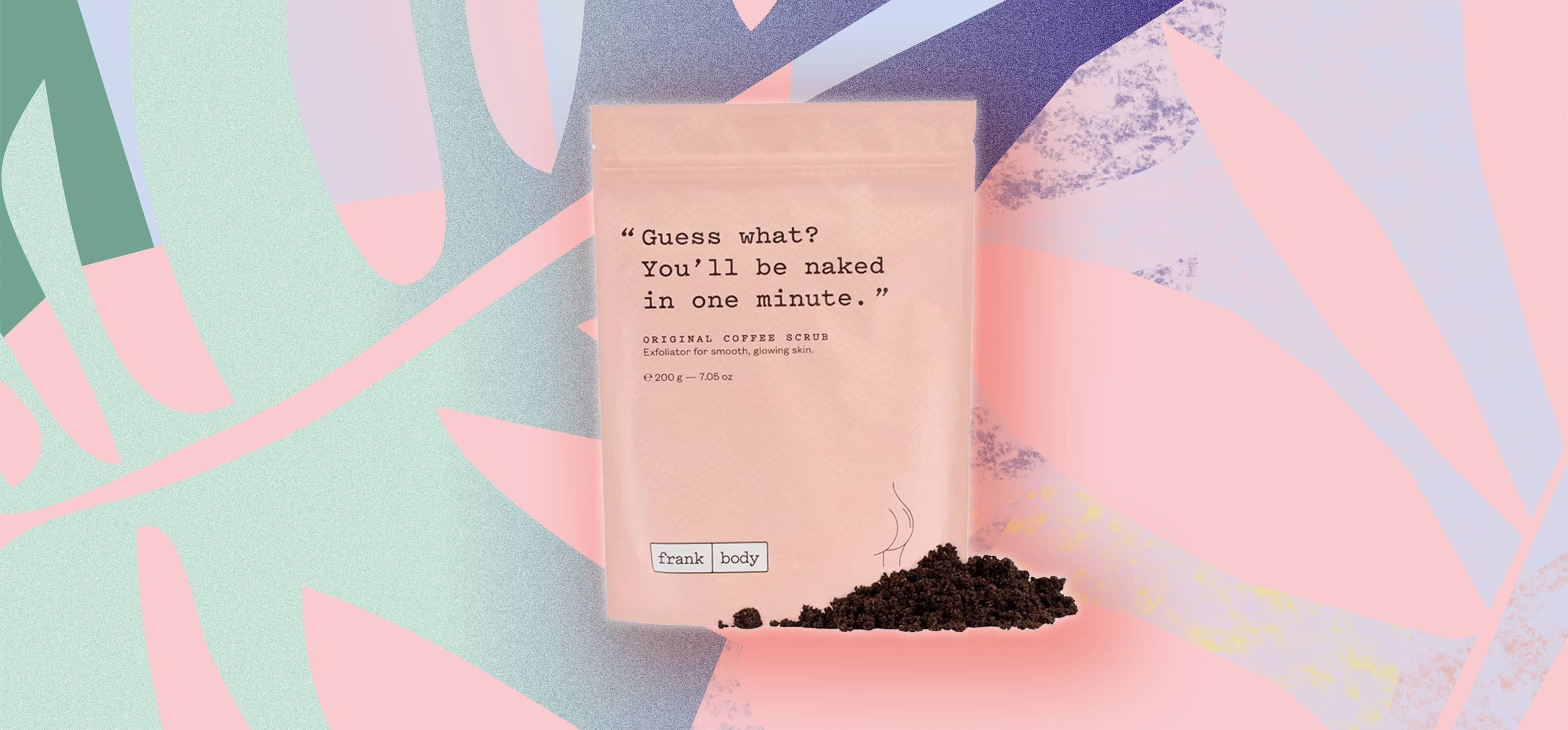 Frank Body Coffee Scrub That Gets Rid Of Stretchmarks Acne