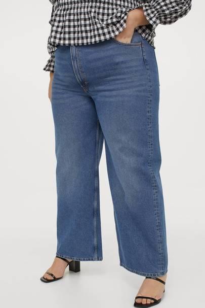 Best Jeans For Curvy Women: Wide Leg