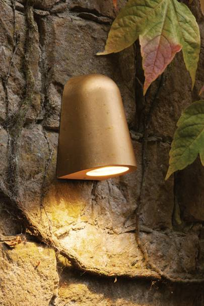 The outdoor wall lights