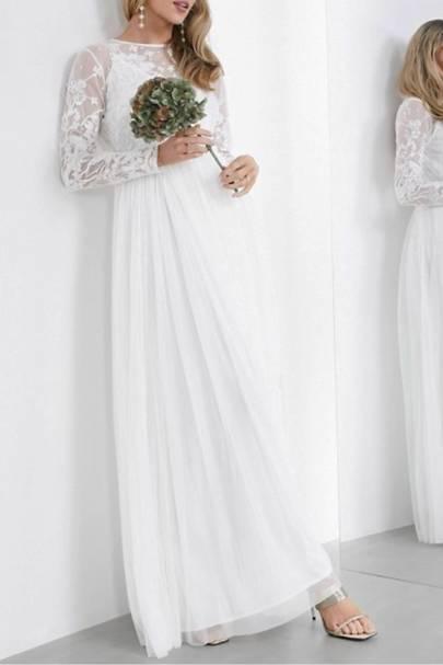 Best traditional ASOS wedding dress