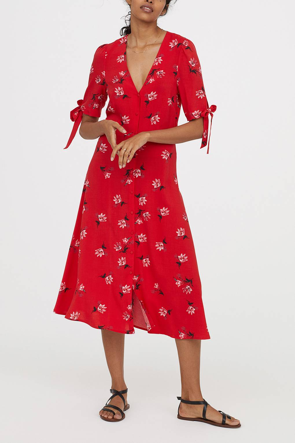 a31b6f1c0478 Zara Floral Midi Dress: Will This Be The Most Popular Dress Of The Summer?  | Glamour UK
