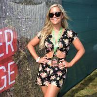 Heidi Range in the Virgin Media Louder Lounge 2012
