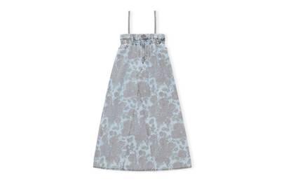 Ganni X Levi's Denim Collaboration: the denim dress