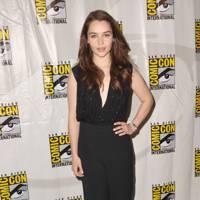 Emilia Clarke at Comic-Con 2012