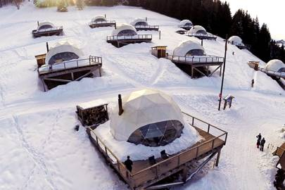 The Whitepod Eco Resort, Switzerland
