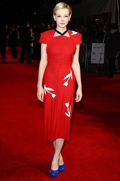 DO #5: Carey Mulligan at the London Critics' Circle Film Awards, January