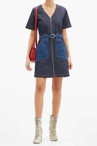 Best Denim Dresses - Seventies Style