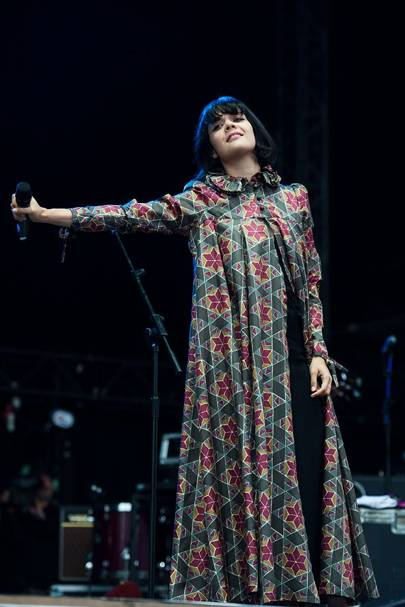 Bat For Lashes perform at Bestival 2012