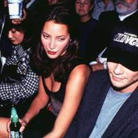 Christy Turlington & Christian Slater