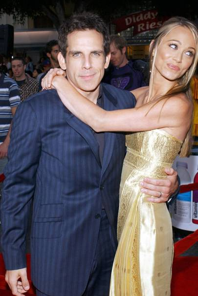 May: Ben Stiller and Christine Taylor