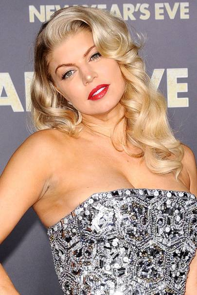DO #2: Fergie's retro glamorous hairstyle - December