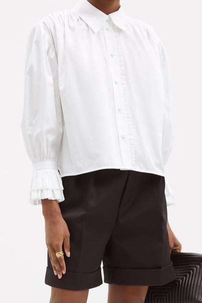 Best Women's White Shirts - Khaite