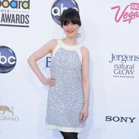 Zooey Deschanel at the Billboard Music Awards 2012