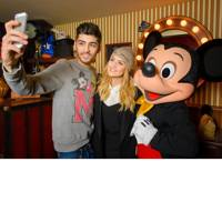 Perrie Edwards and Zayn Malik