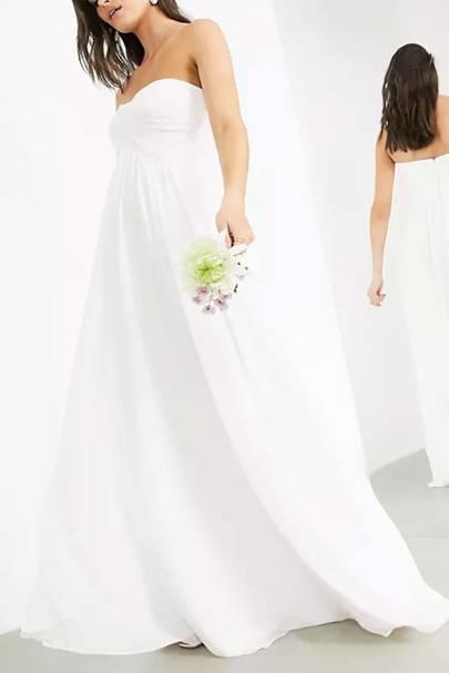 Cheap high street wedding dresses: ASOS wedding dresses