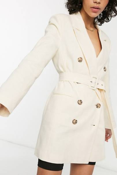 The belted blazer