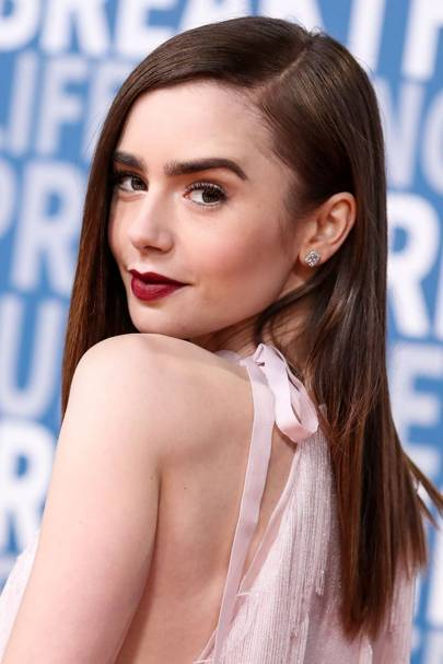 Hair Trend Ideas Side Parting Celebrity Hairstyles Glamour Uk