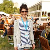Gemma Arteton at the Barclaycard British Summer Time Concert