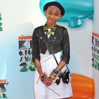 Willow Smith at the Kids' Choice Awards 2012