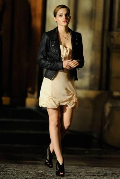 Emma Watson – Get Leathered