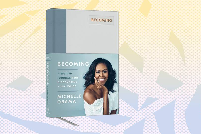 Michelle Obama's empowering new journal will help you achieve your goals
