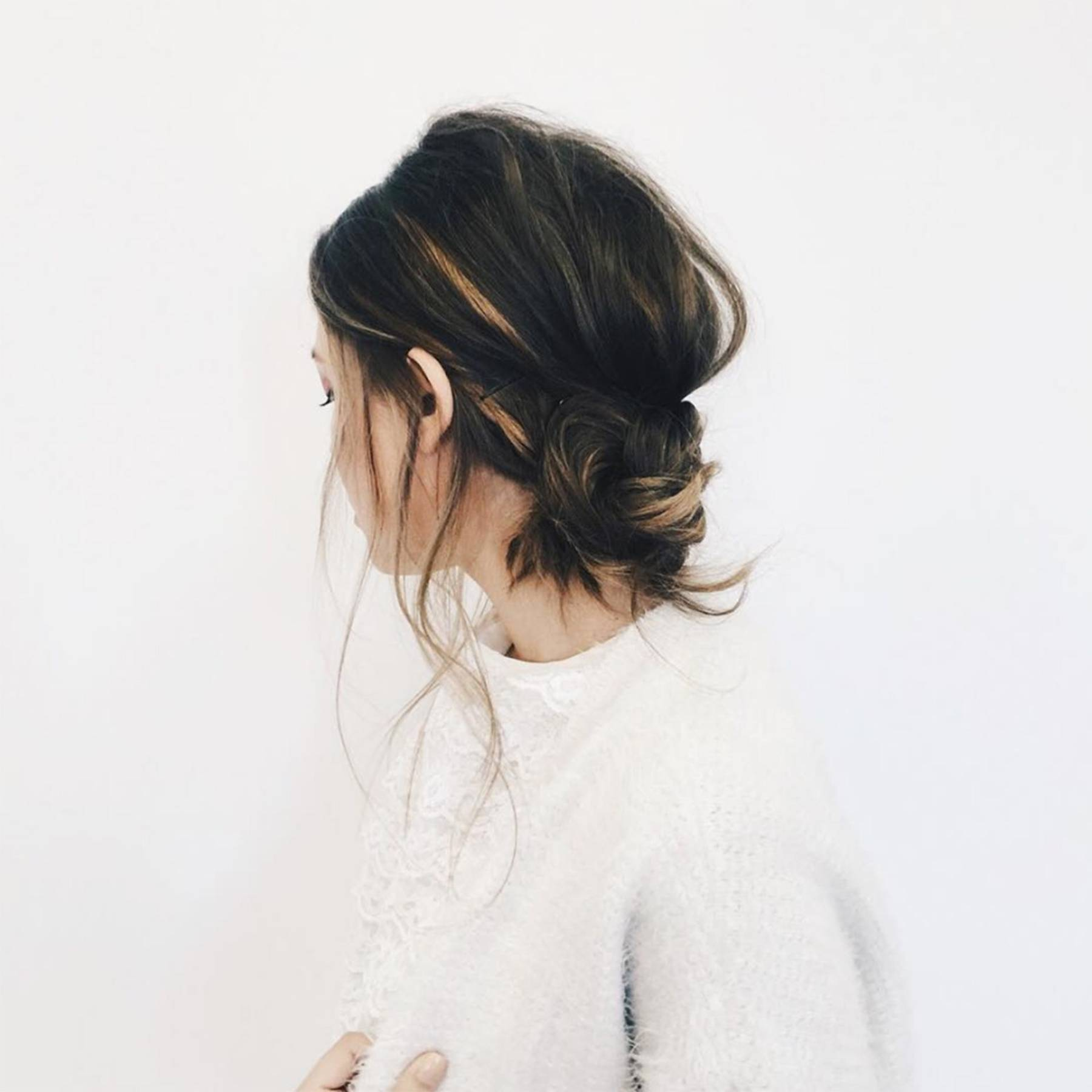 Easy hairstyle tutorials - twisted updo how-to   Glamour UK