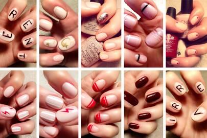 Alessandra Steinherr Dryby Nail Collaboration Glamour Uk
