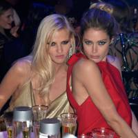 Lara Stone and Doutzen Kroes