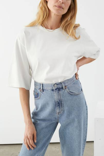 Best oversized white t-shirt