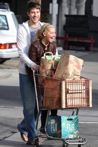 Ashley Tisdale & Scott Speer