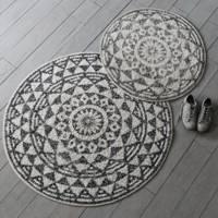 Best round bath mat