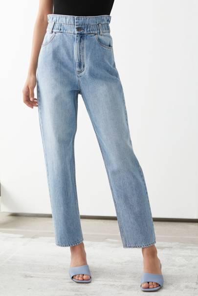 Best paperbag waist jeans for women