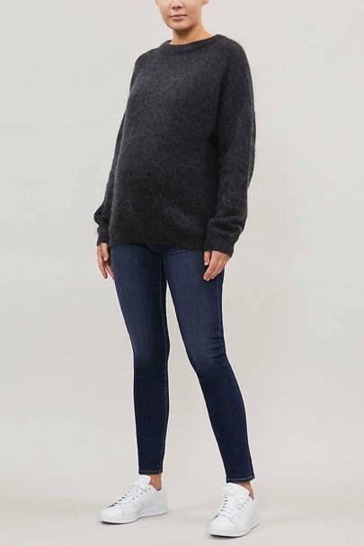 Best Maternity Jeans - Indigo Wash