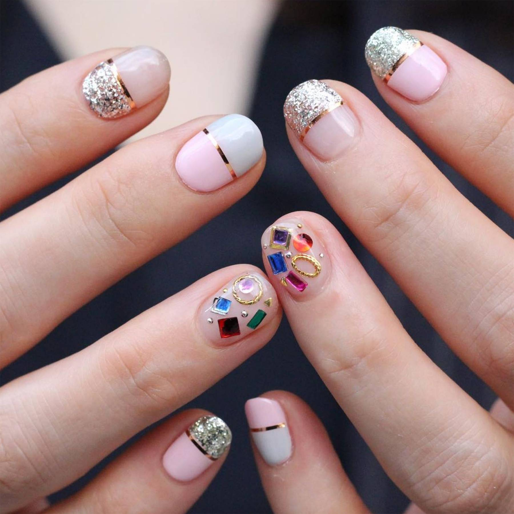 Korean nail art nail designs pictures from instagram glamour uk prinsesfo Gallery