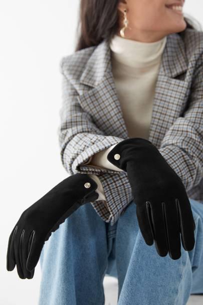 Best suede winter gloves for women
