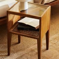 Best wooden bedside table