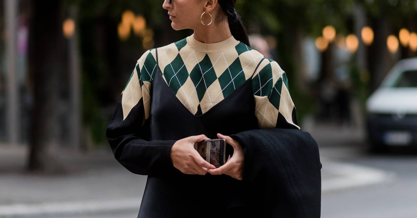 Argyle knits is the knitwear trend everyone is going to be wearing this winter